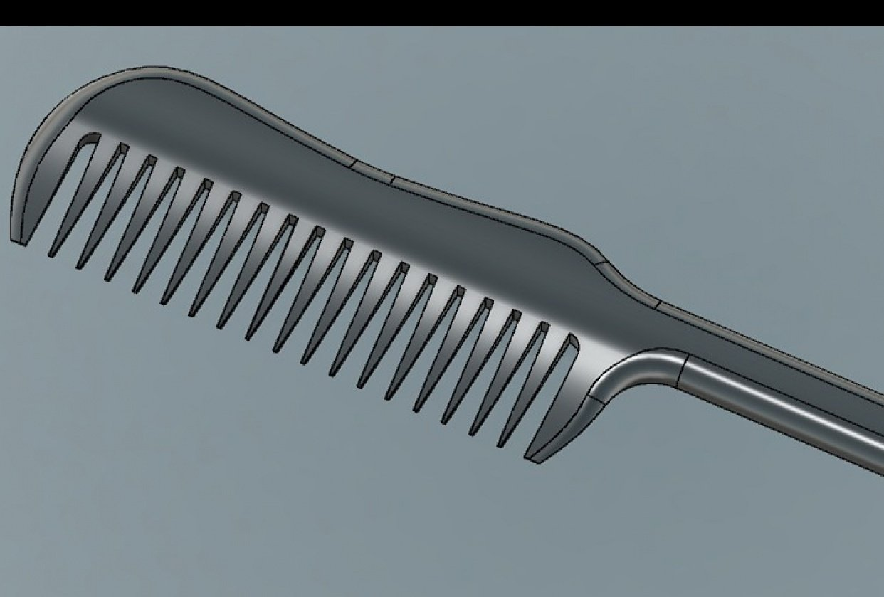 Haircomb - student project