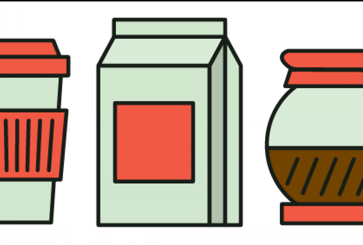 Coffee Icons - student project
