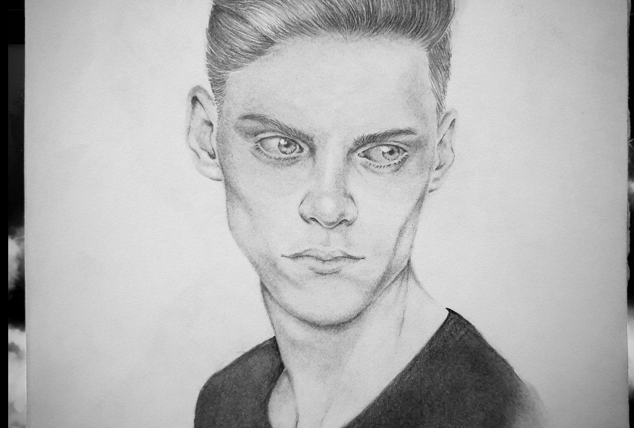 Male Portrait - student project