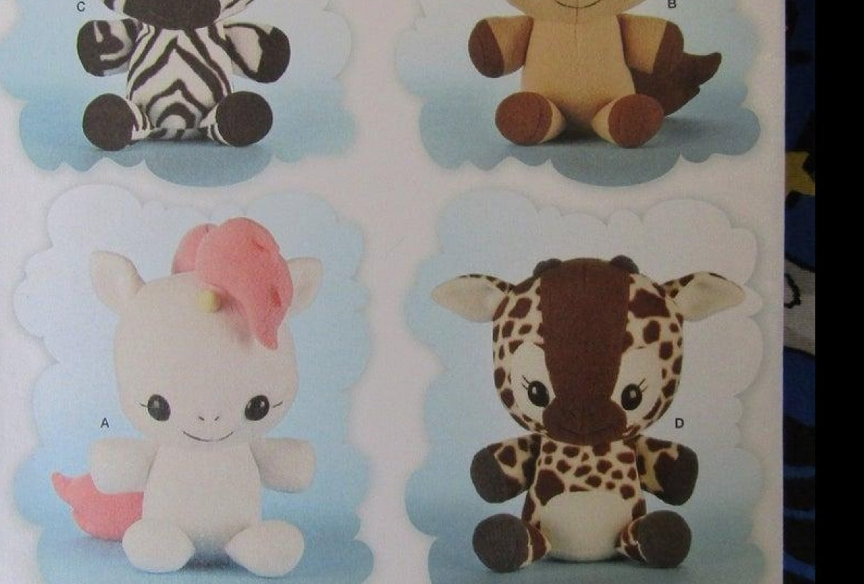 Animal Plushies - student project