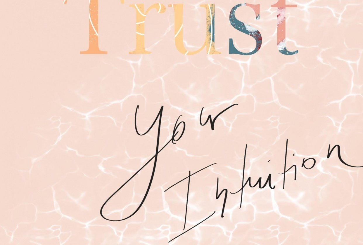 Trust your intuition - student project