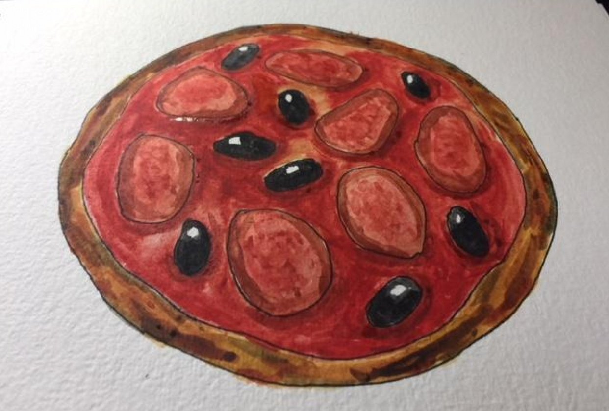 Pepperoni Pizza - student project