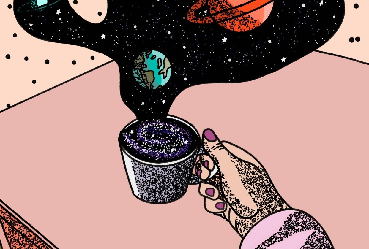 The Universe in my cup - student project