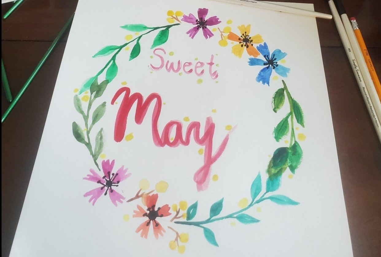 Sweet May Flowers - student project