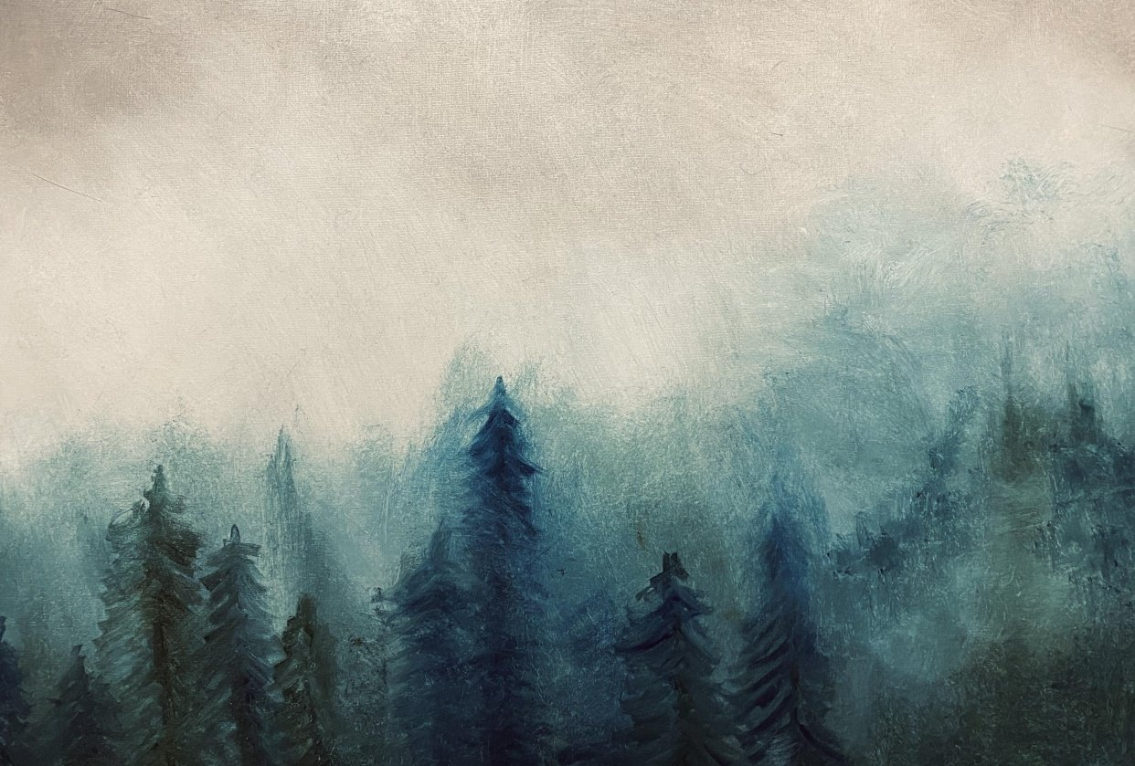 Forest Scene. - student project