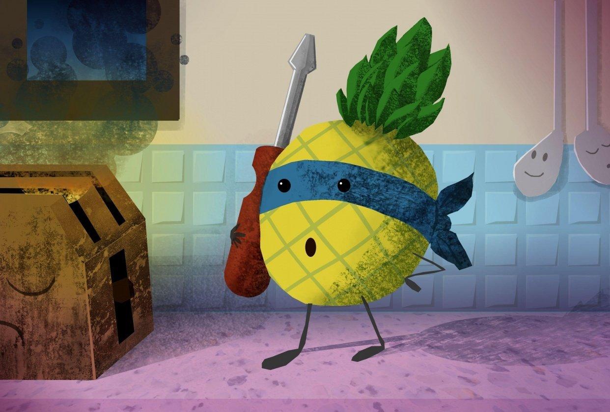 my pineapple hero - student project