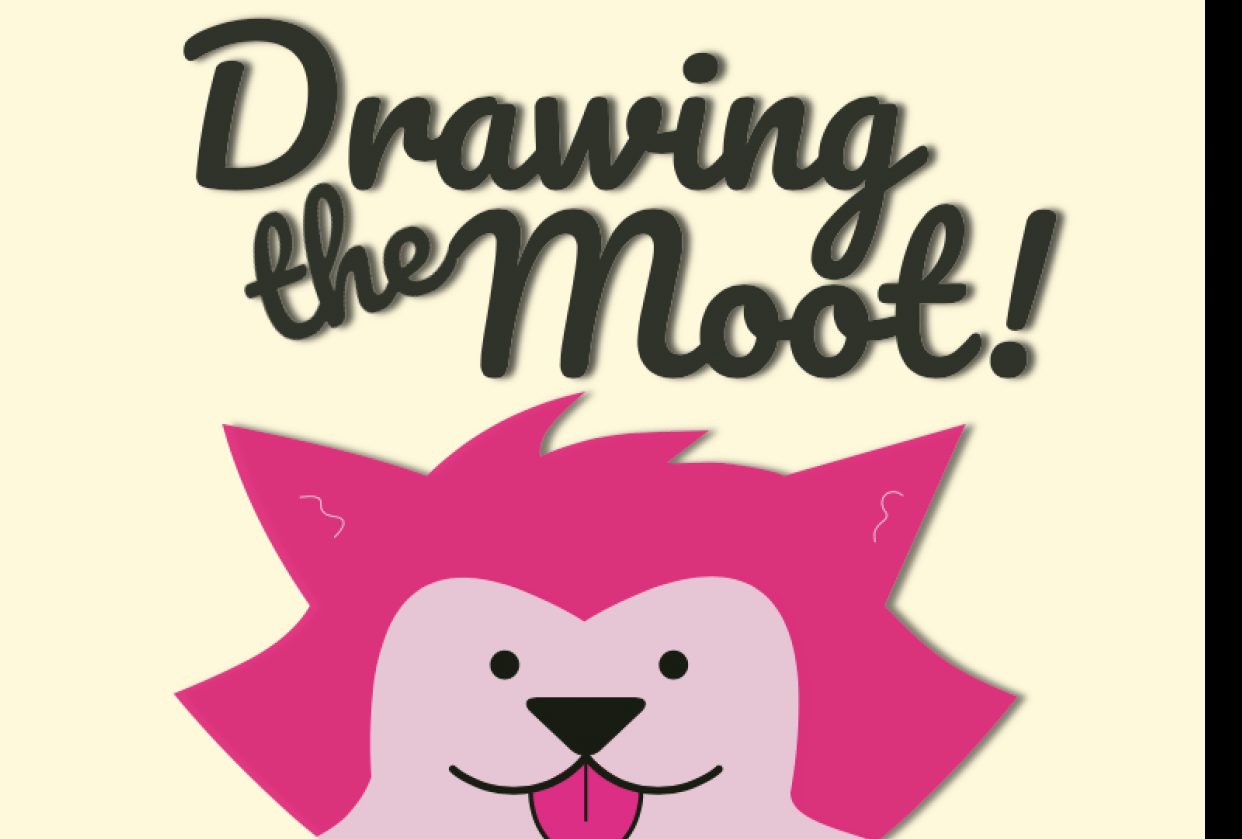 Drawing the Moot - student project