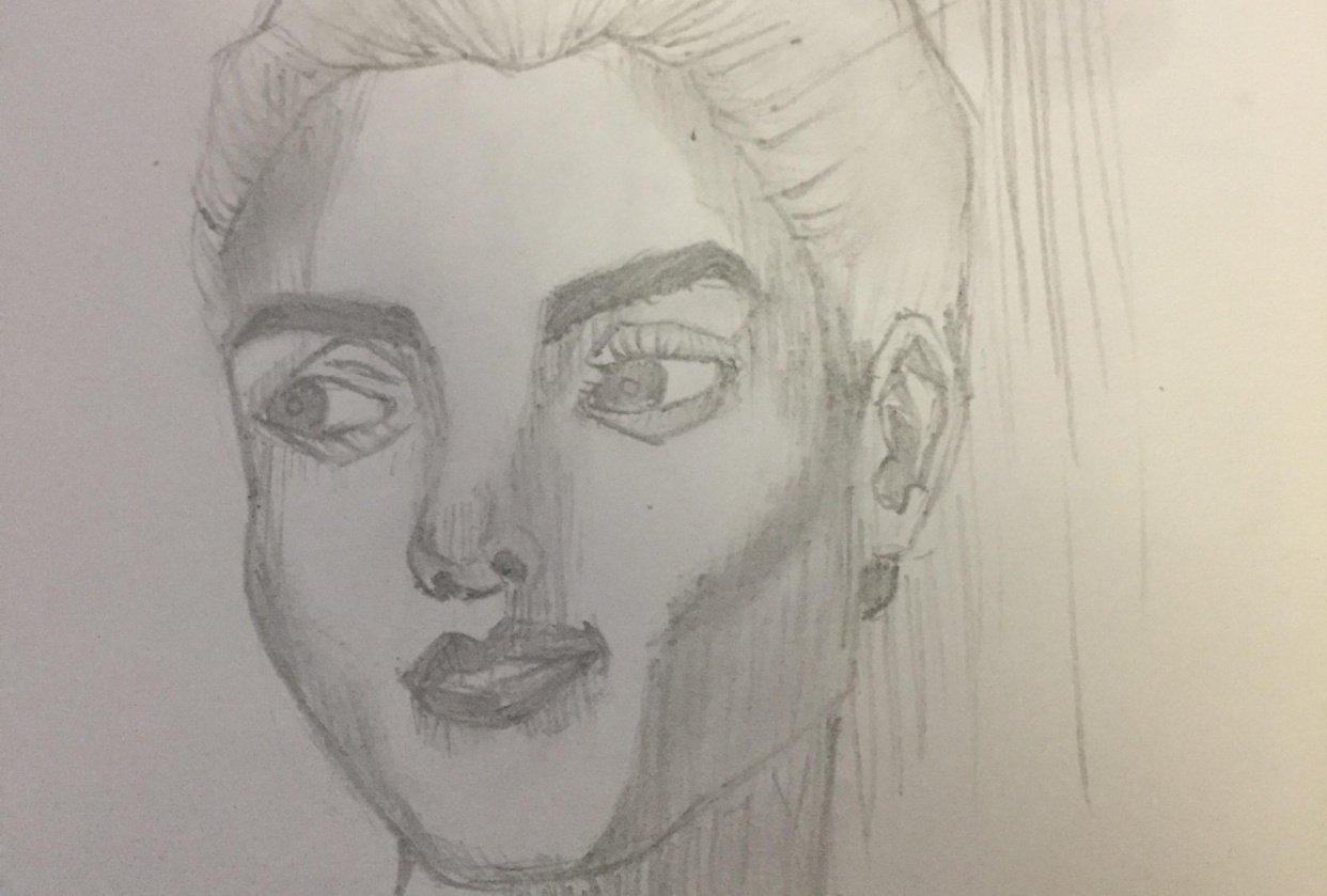 Portrait - Woman - student project