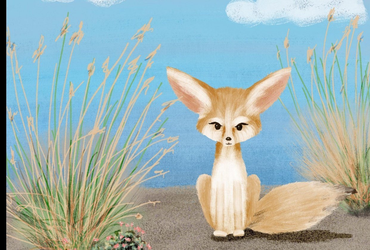 Fennec the Fox - student project