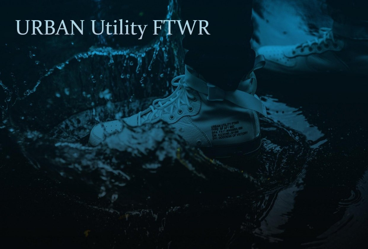 Urban Utility Shoes - student project