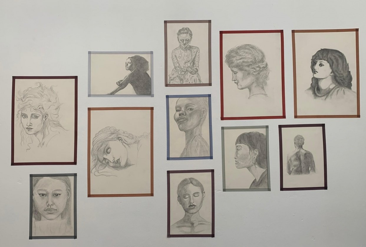 Collection of drawings - student project