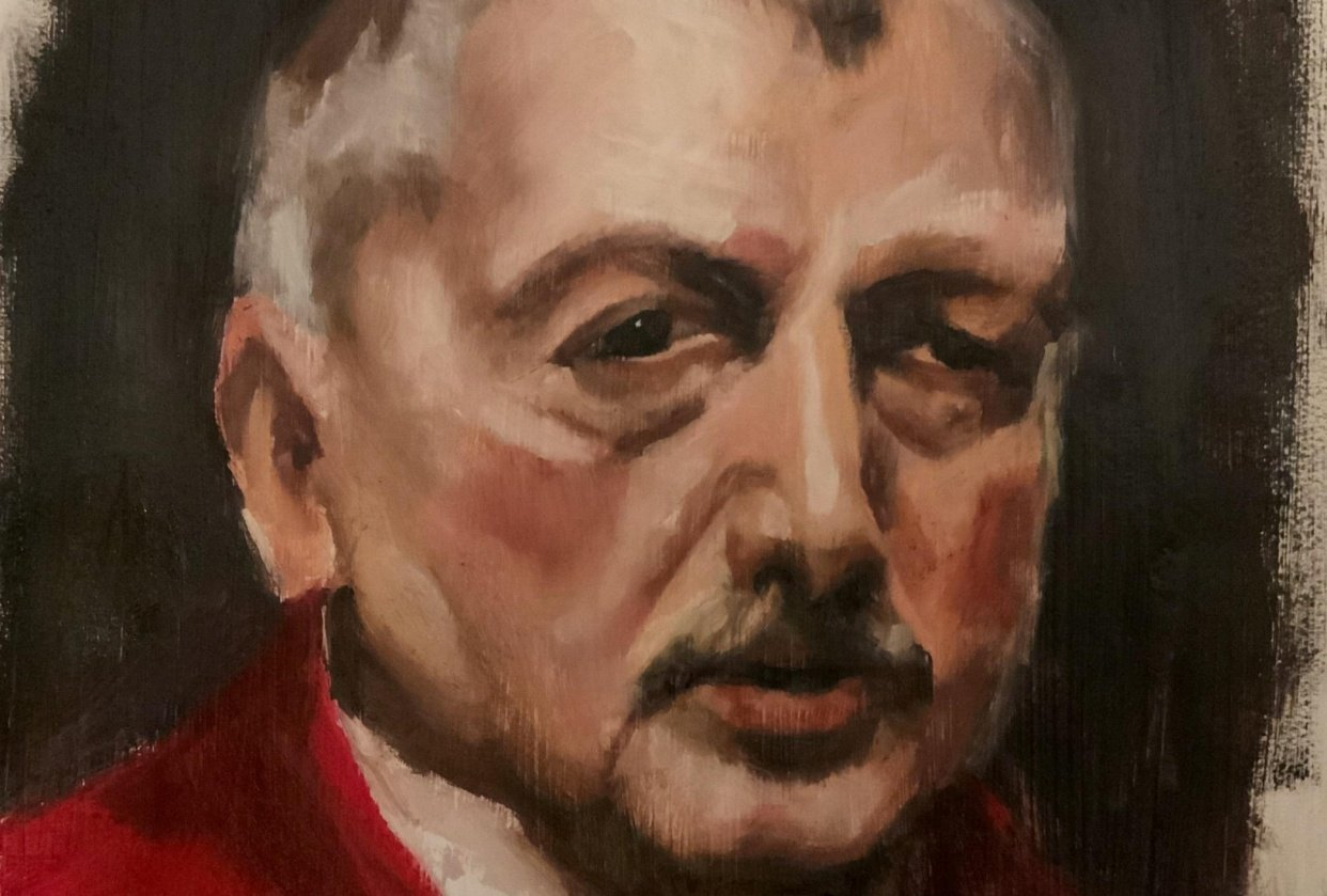 Zorn portrait using the zorn pallet - student project