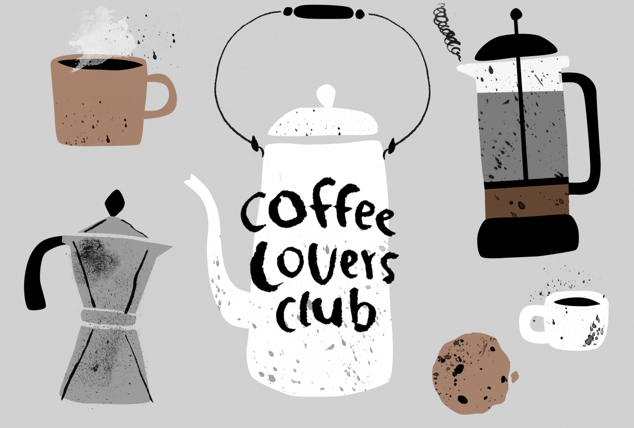 Coffee Lovers Club - student project