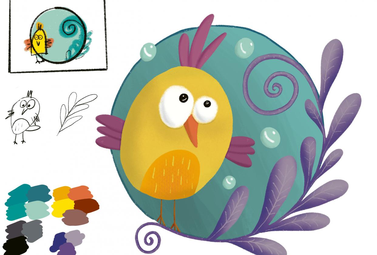 My little birdie - student project