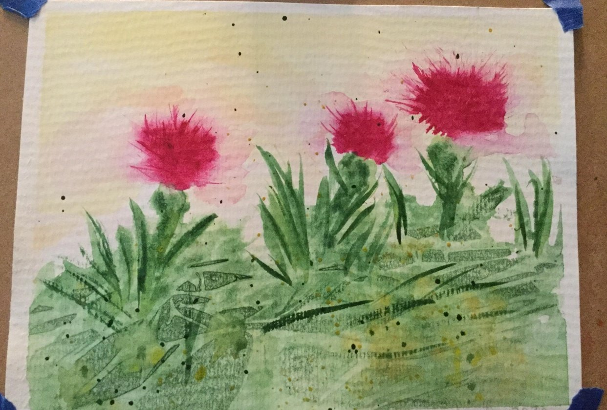 My Thistles - student project