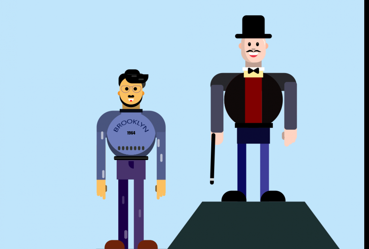 me and magician - student project