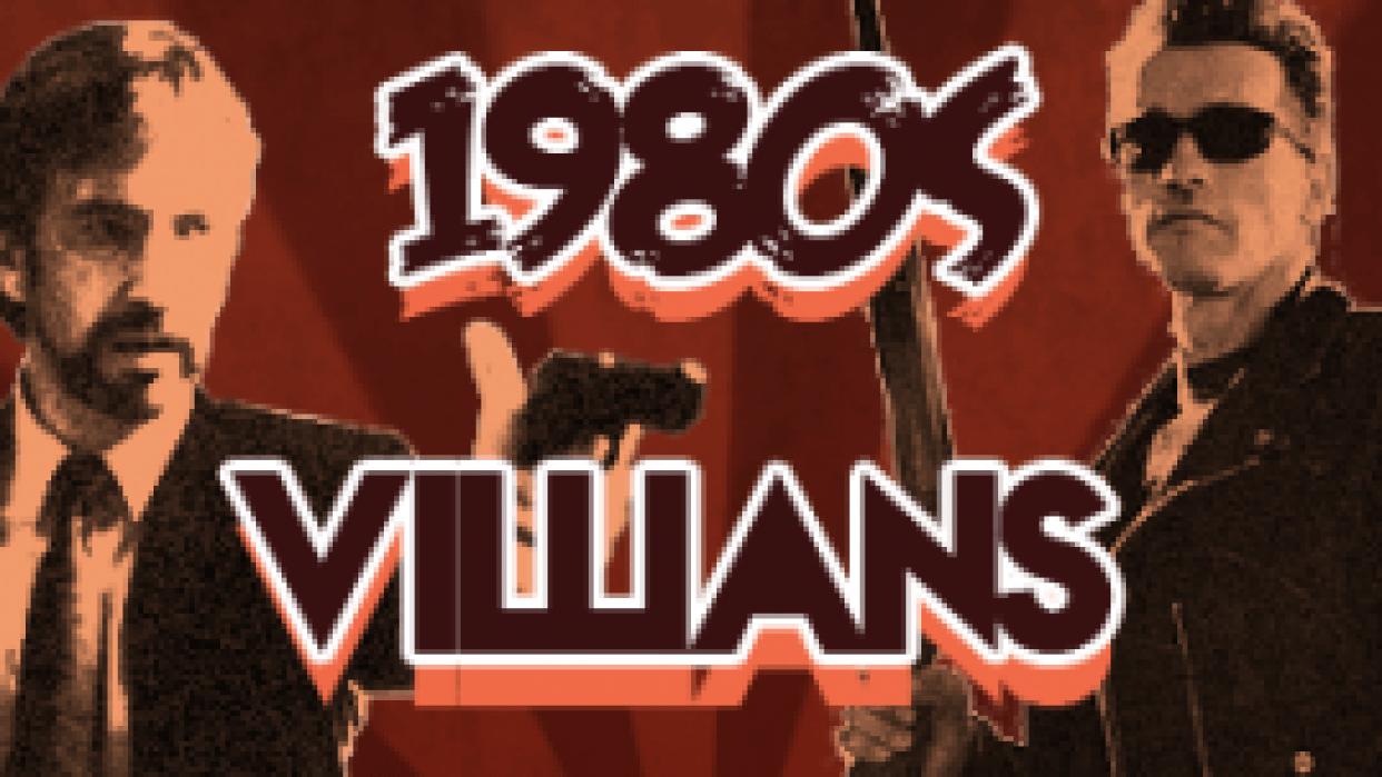 1980's VILLIANS - student project
