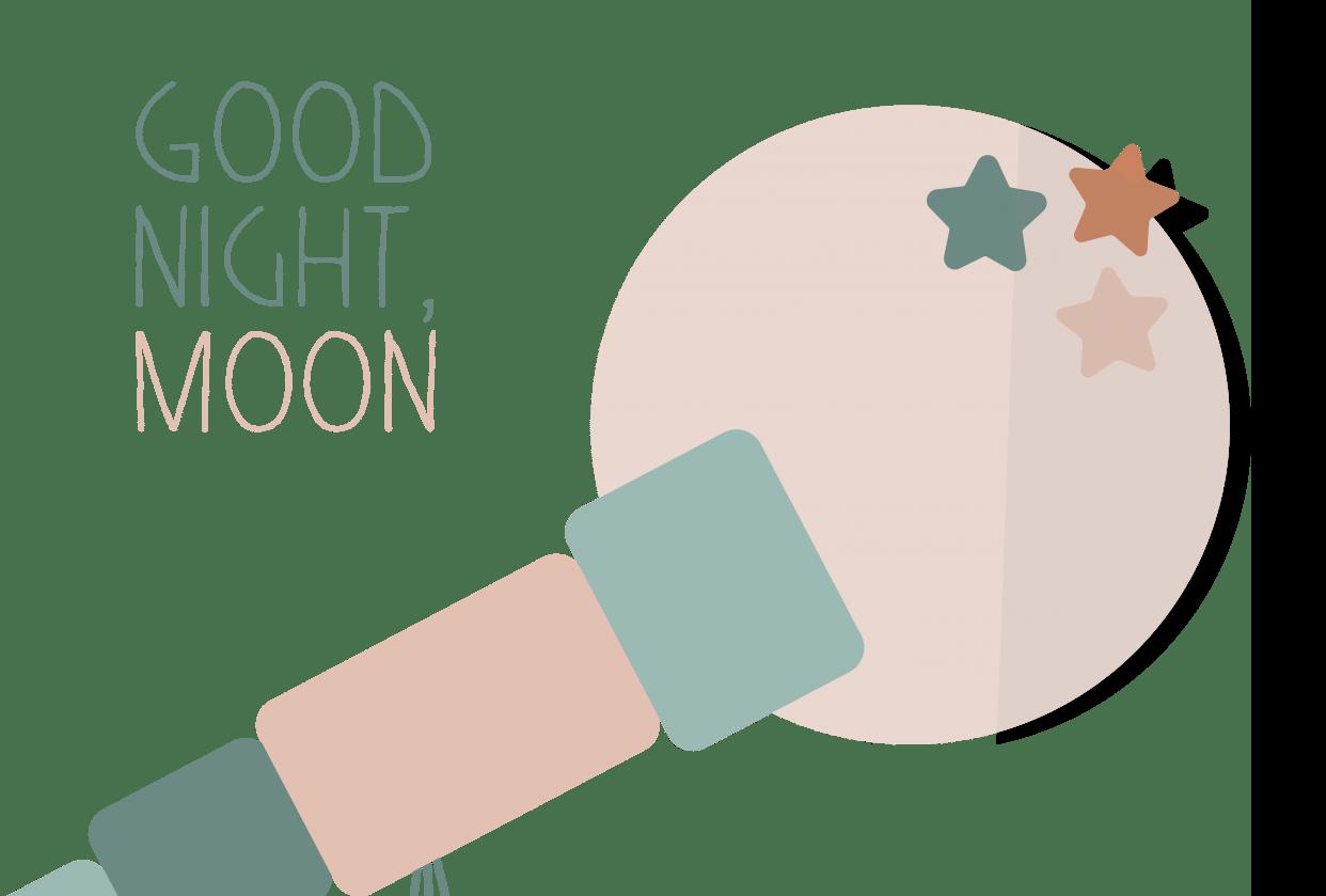 Good night, moon - student project