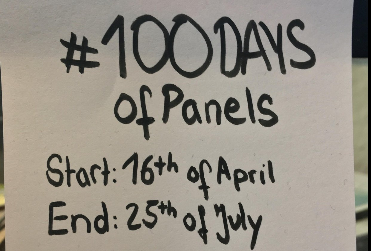 #100DaysofPanels - student project