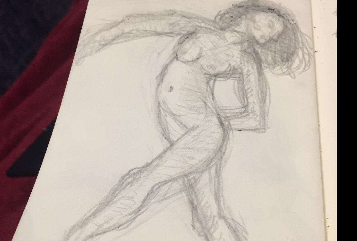 Life drawing - student project