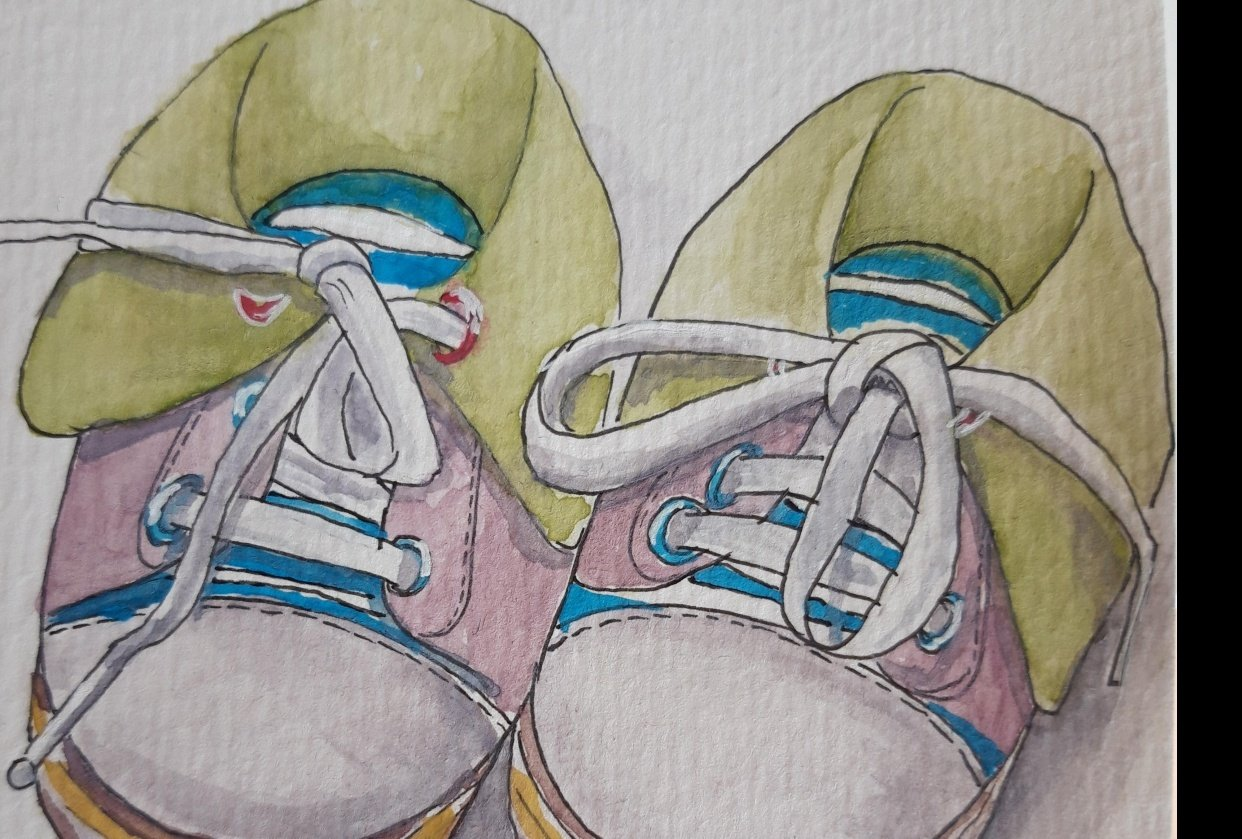 Bianca's Baby shoe - student project