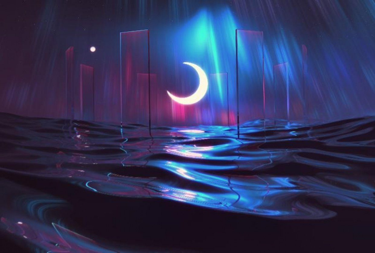 Moonlight Tide - student project