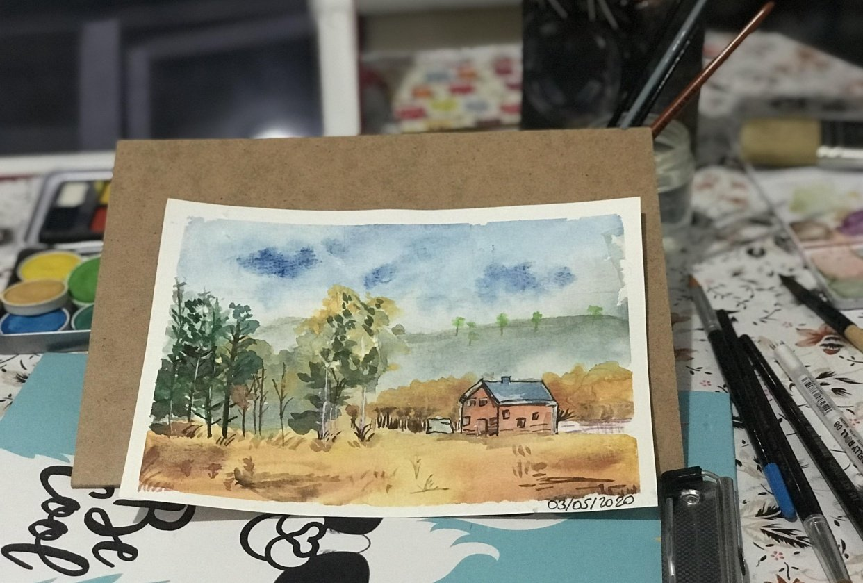 landscape trial - student project
