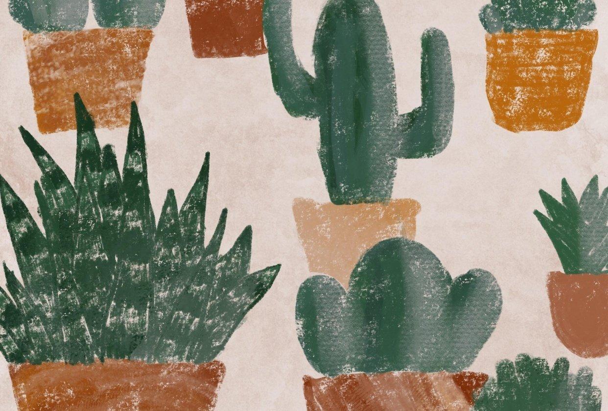 Pot Tiles - student project