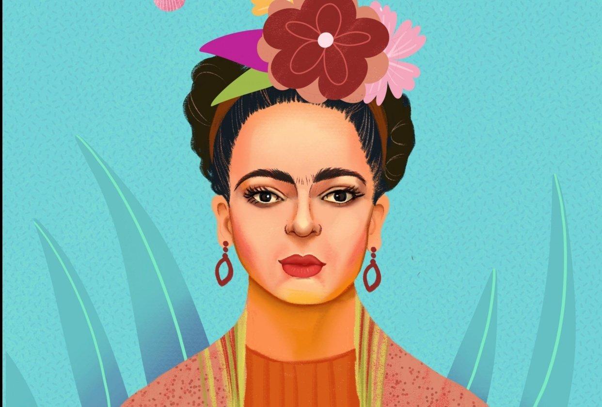 Frida Kahlo Portrait - student project