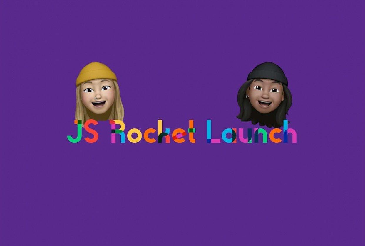 JS Rocket Launch - student project