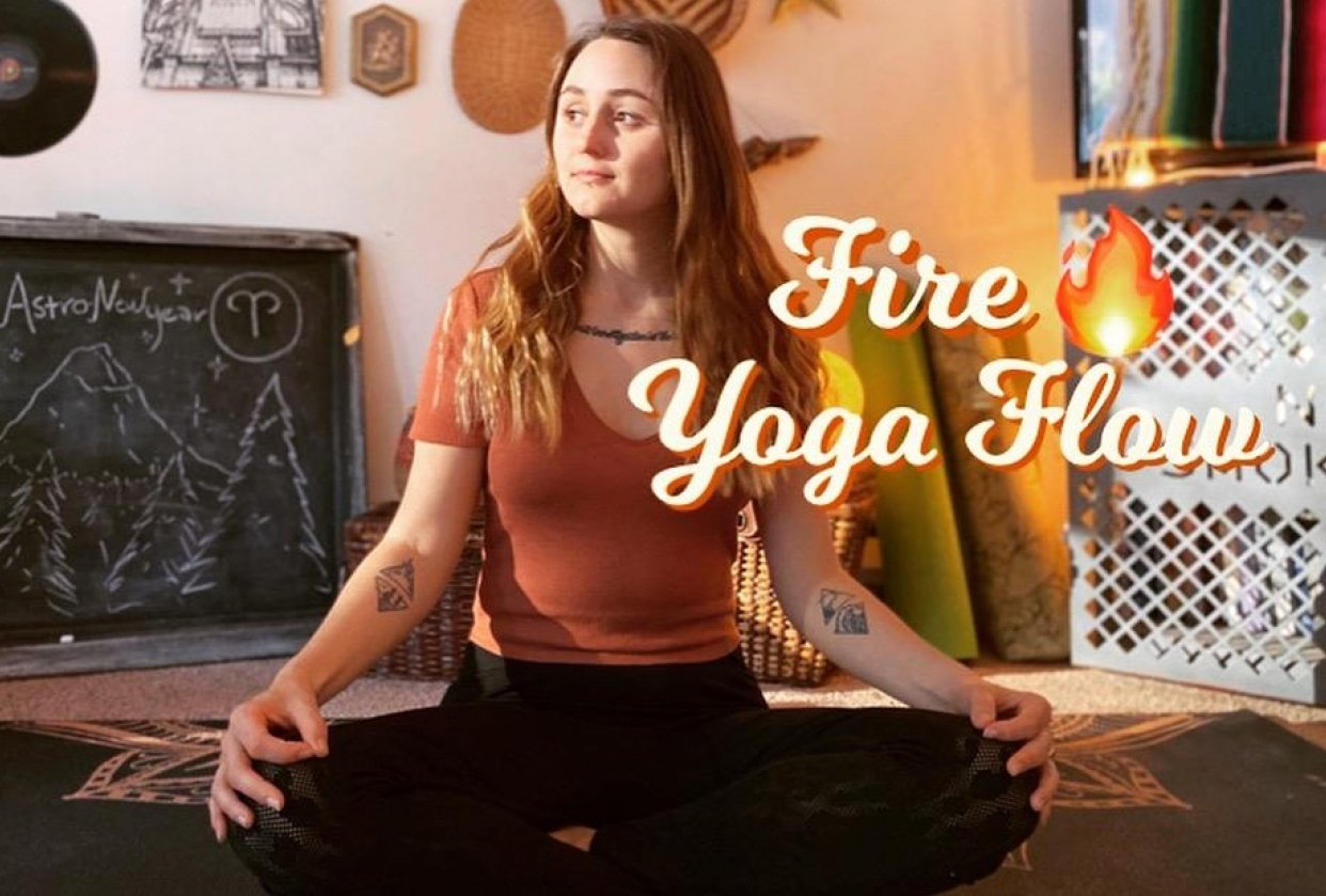 Filming my yoga on iPhone - student project