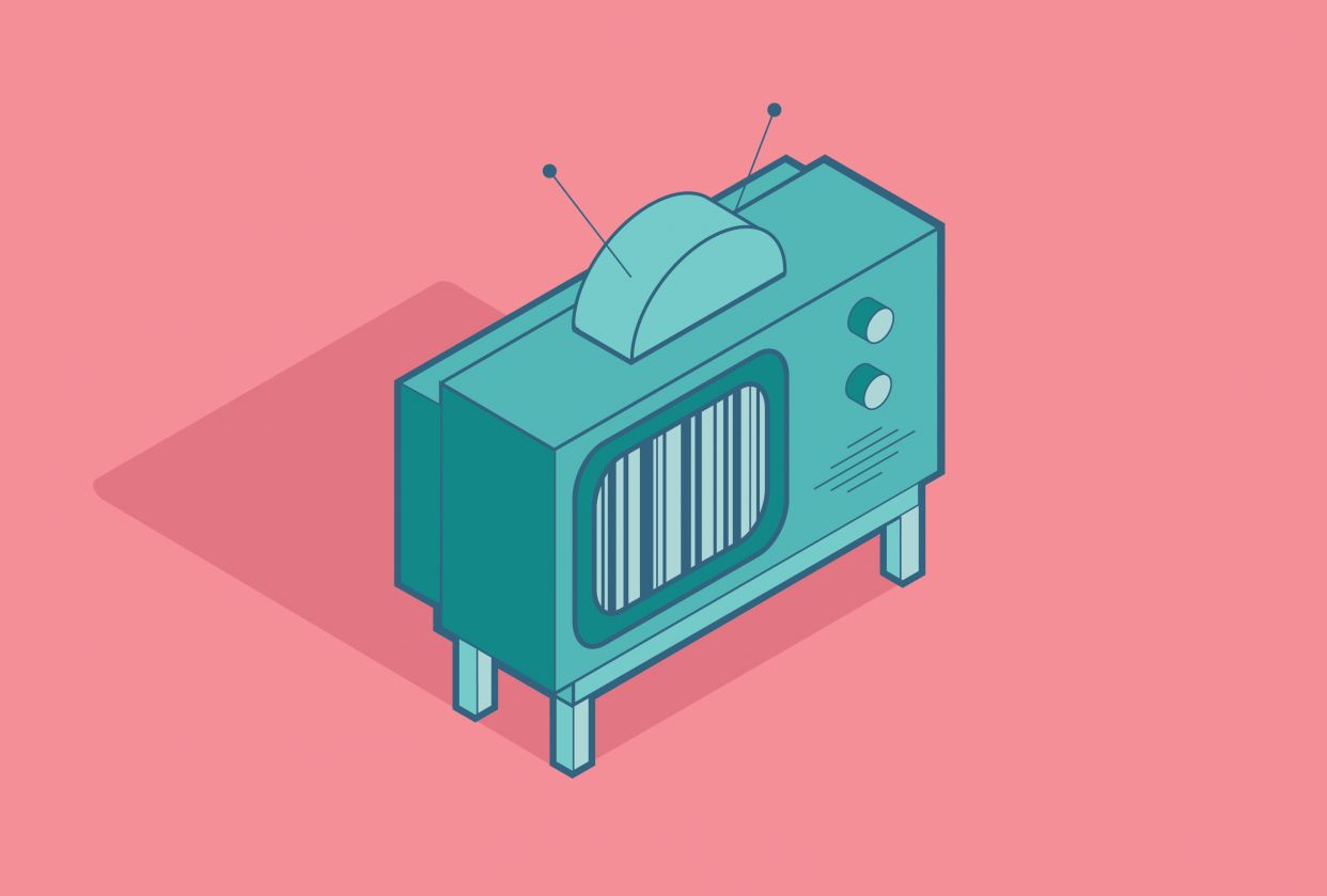 Isometric TV - student project