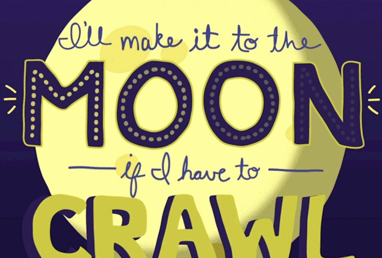 Make it to the Moon - student project