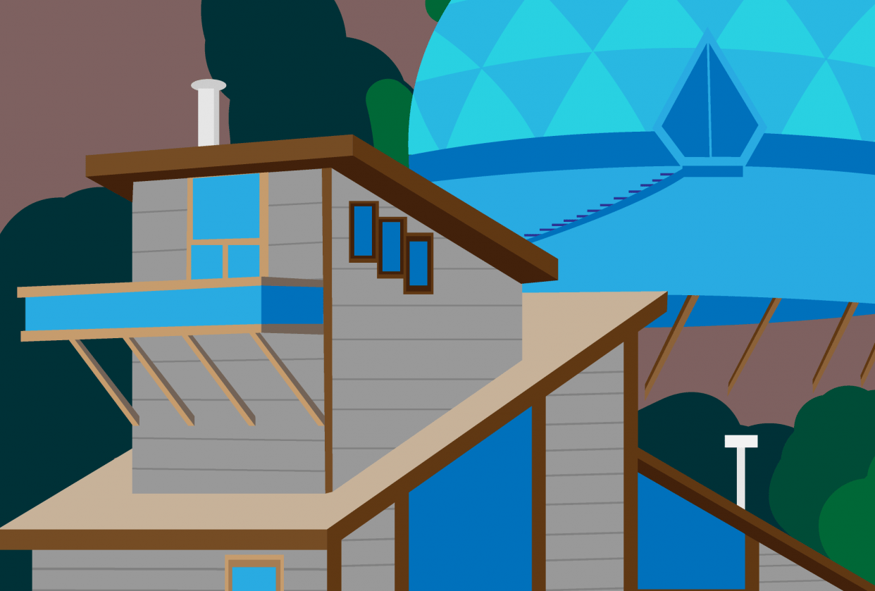Universe Beach House - student project