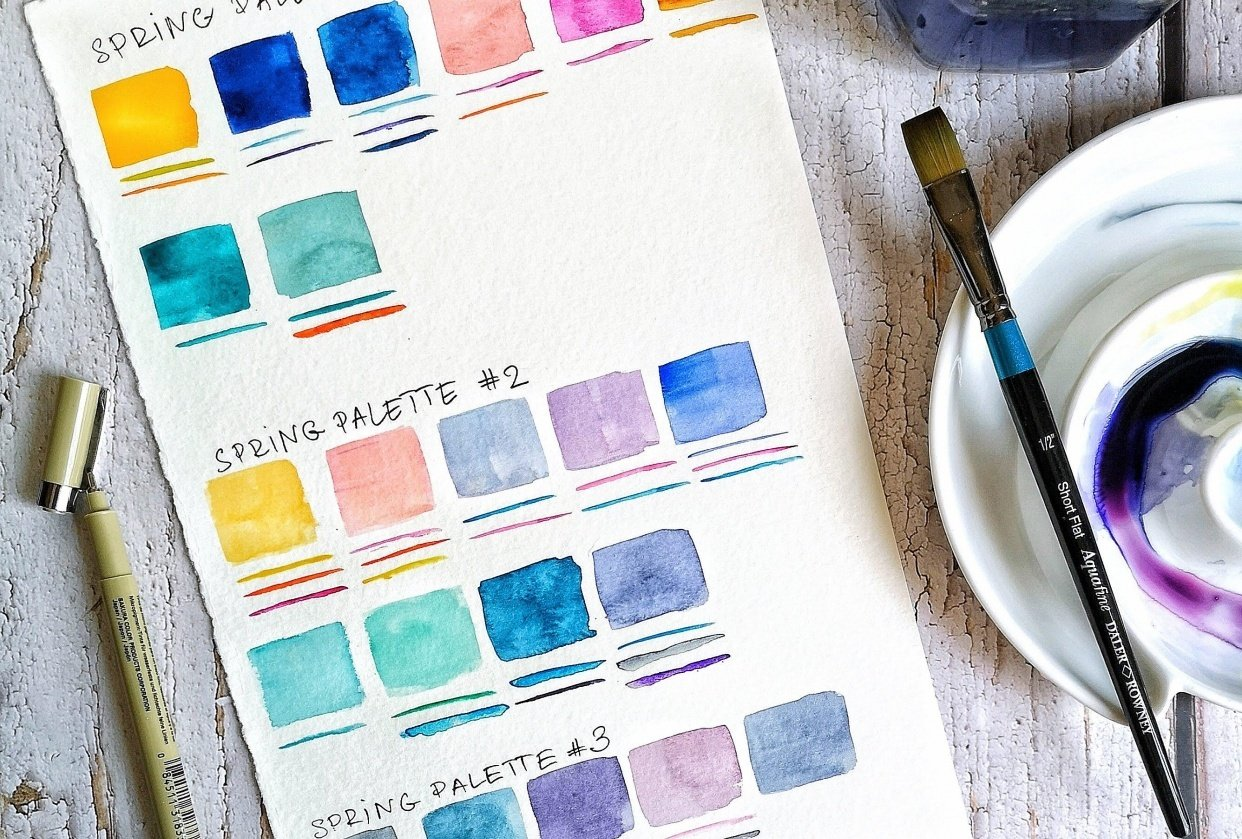 Spring color trends - student project