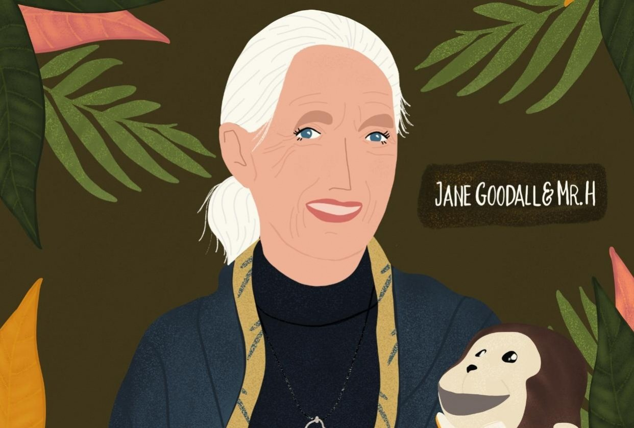 Jane Goodall & Mr. H - student project
