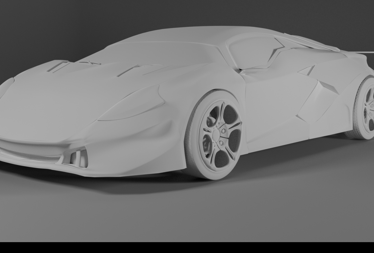 My version of the car - student project