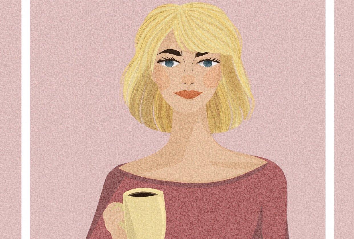 Blonde Bob Girl - student project