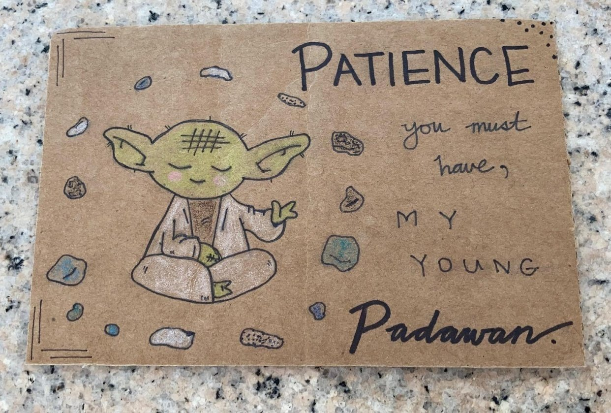 Greetings from Yoda (and others) - student project