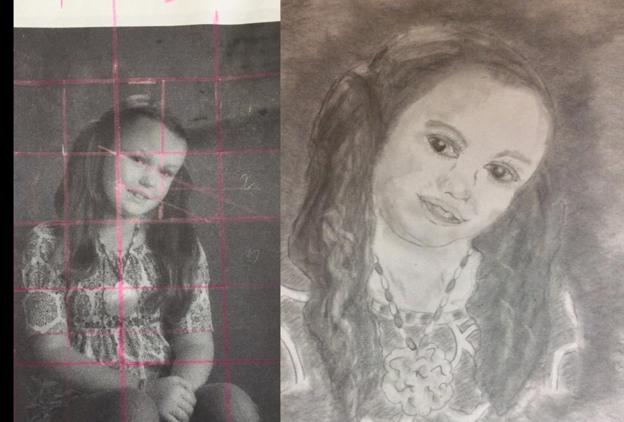 PHOTO PROJECT -- 6-year-old granddaughter - student project