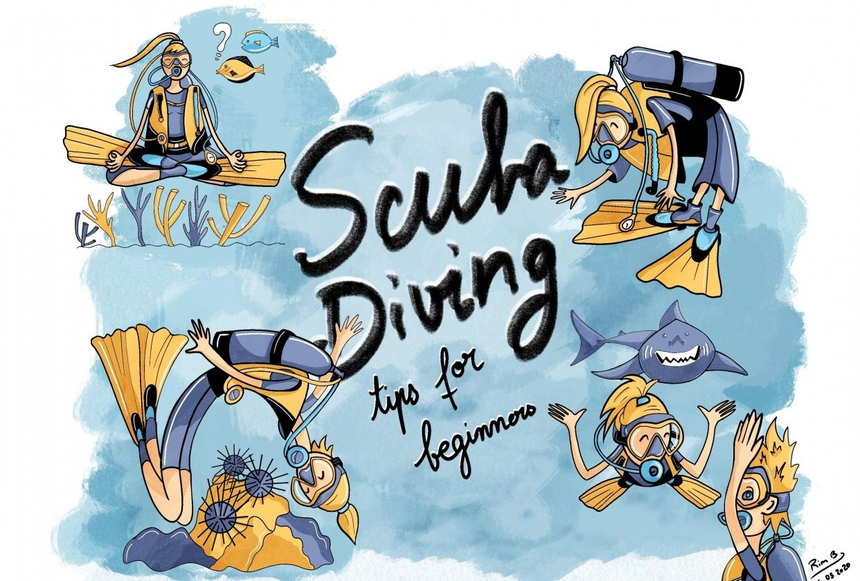 Scuba Diving Tips for Beginners - student project