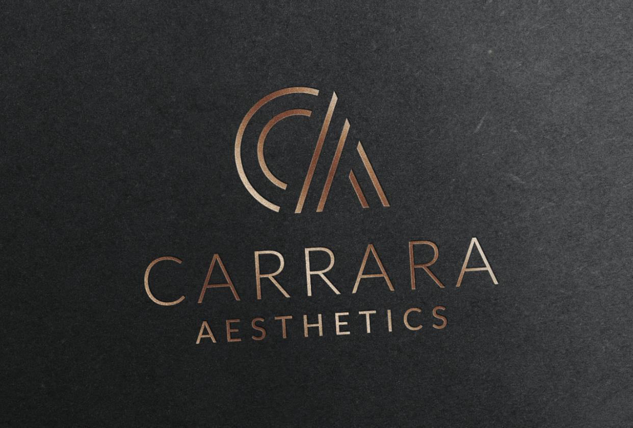 Brand Identity Design: Carrara Aesthetics - student project