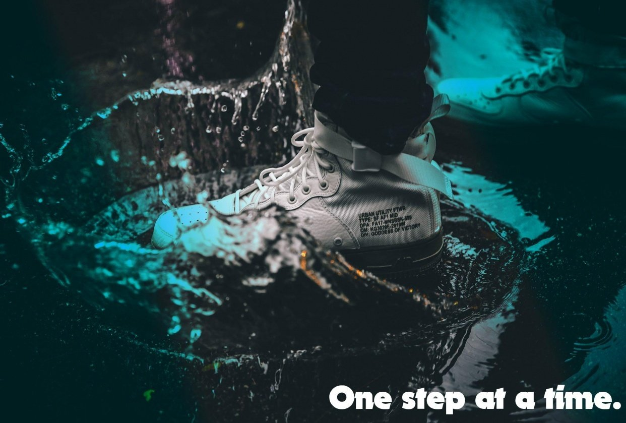 One step at a time - student project