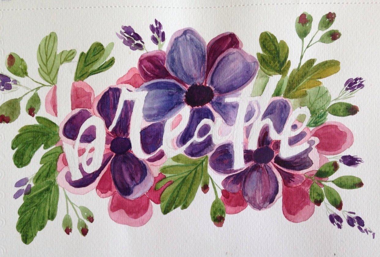 Breathe through Art - student project