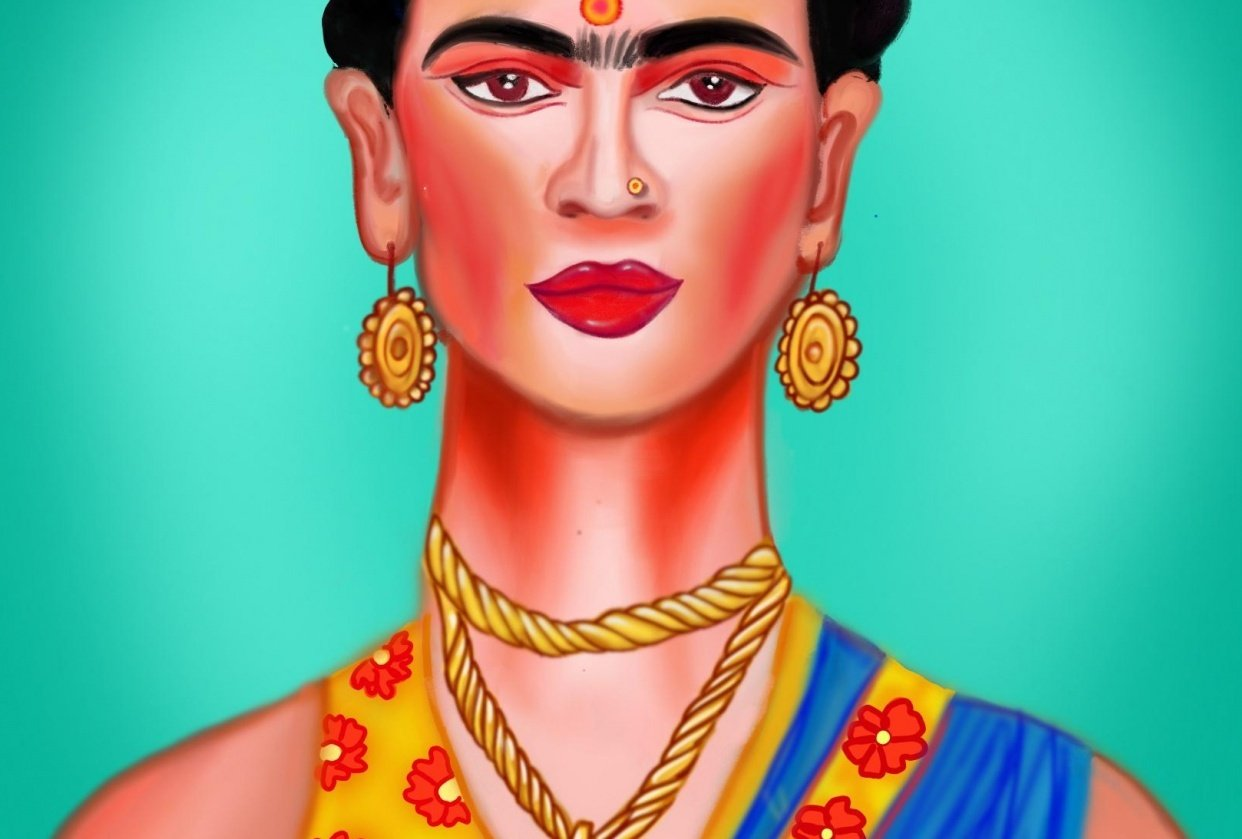 Indian frida - student project