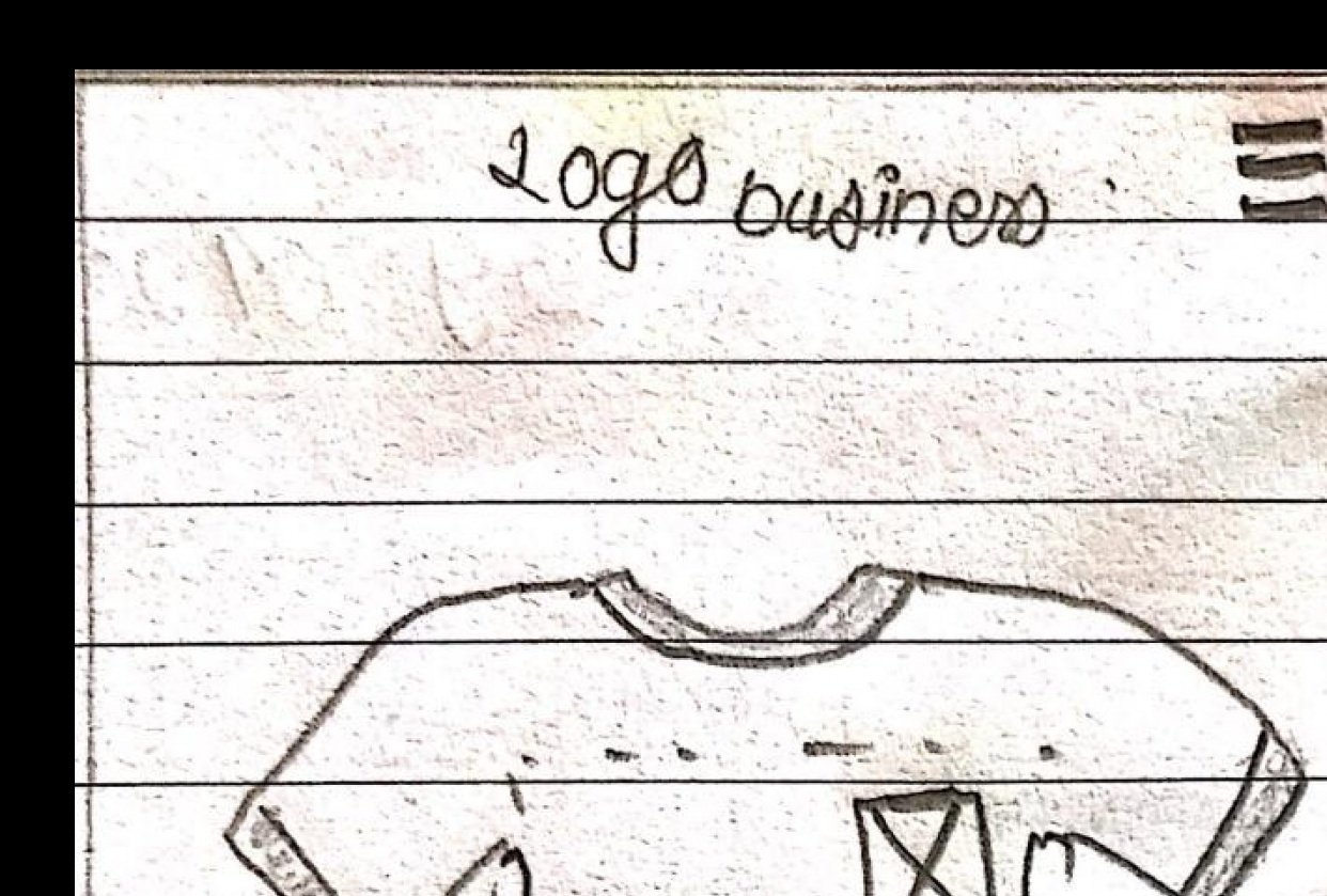 Logo business wireframes - student project