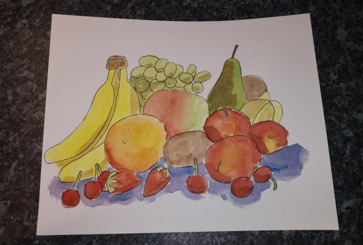 Fruit Arrangement - student project