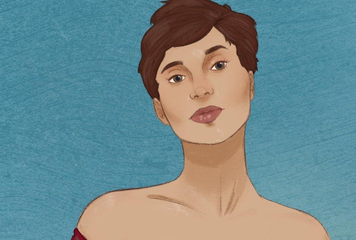 Emma Portrait - student project