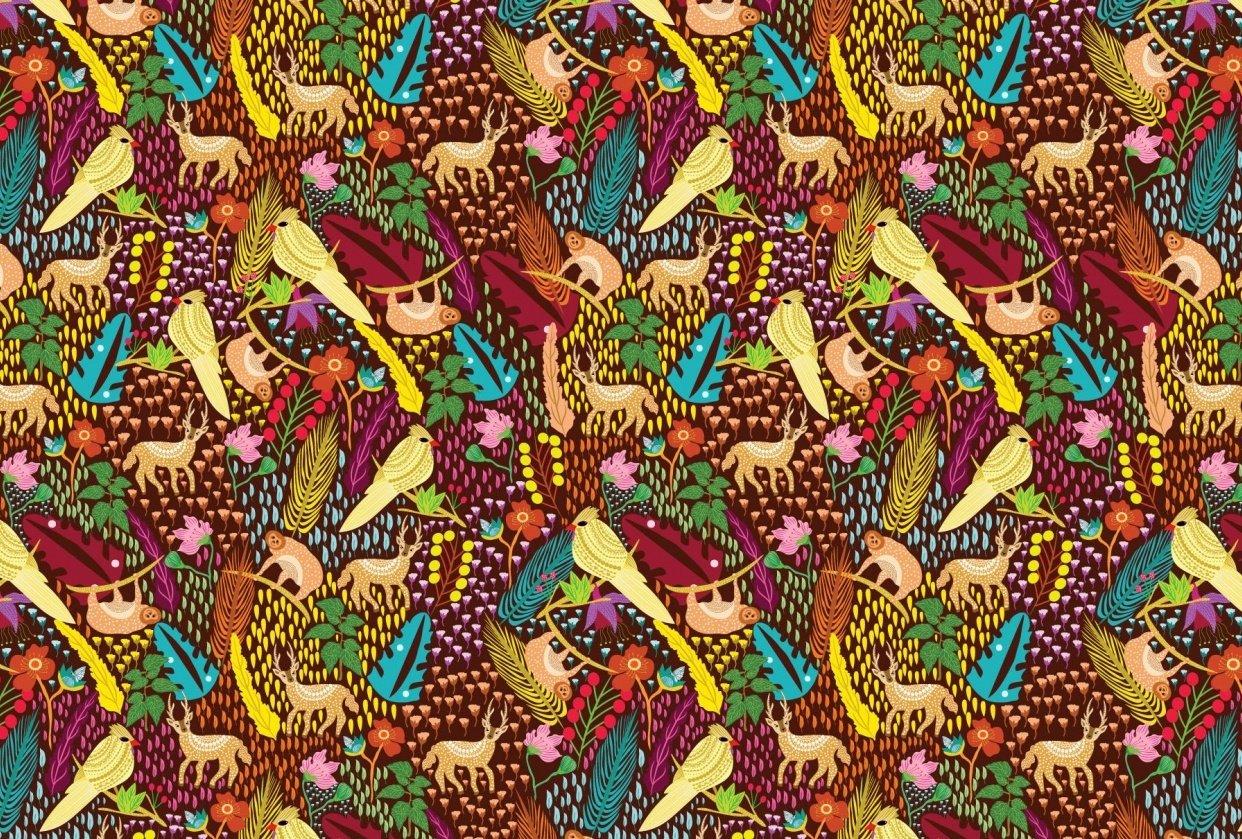 Jungle Pattern - student project