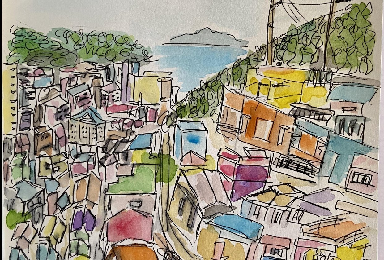 Gamcheon Culture Village, Busan - student project